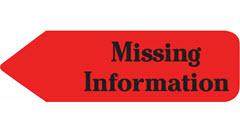 Missing Information